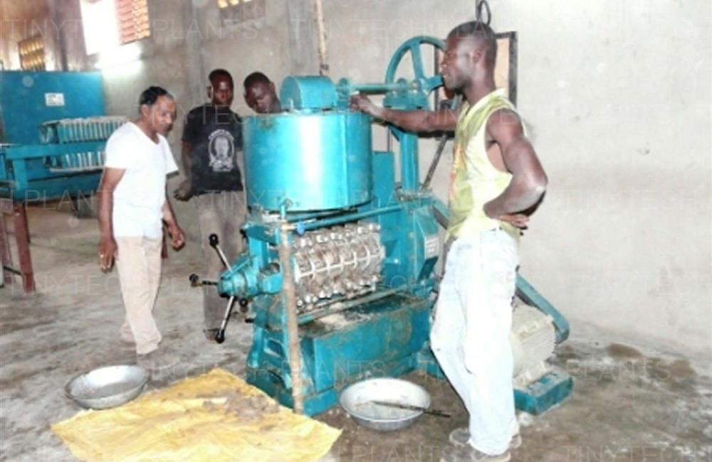Sesame Oil Mill Plant -Burkina Faso