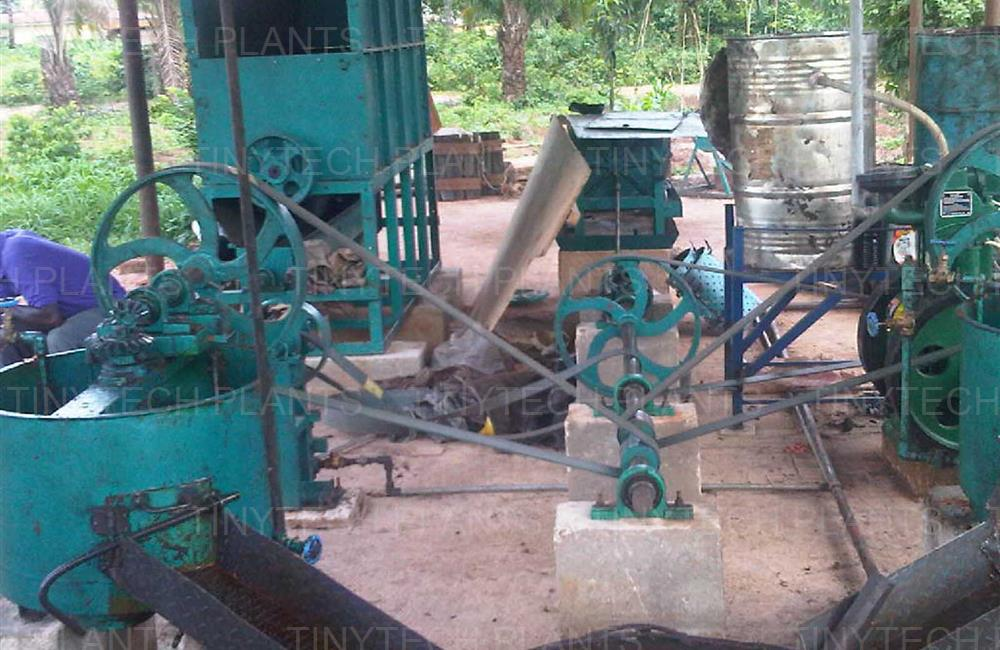 Palm Oil Mill - Nigeria
