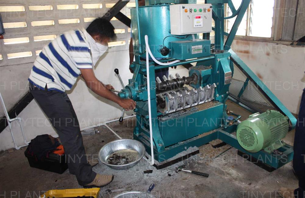 Jatropha Oil Mill Plant