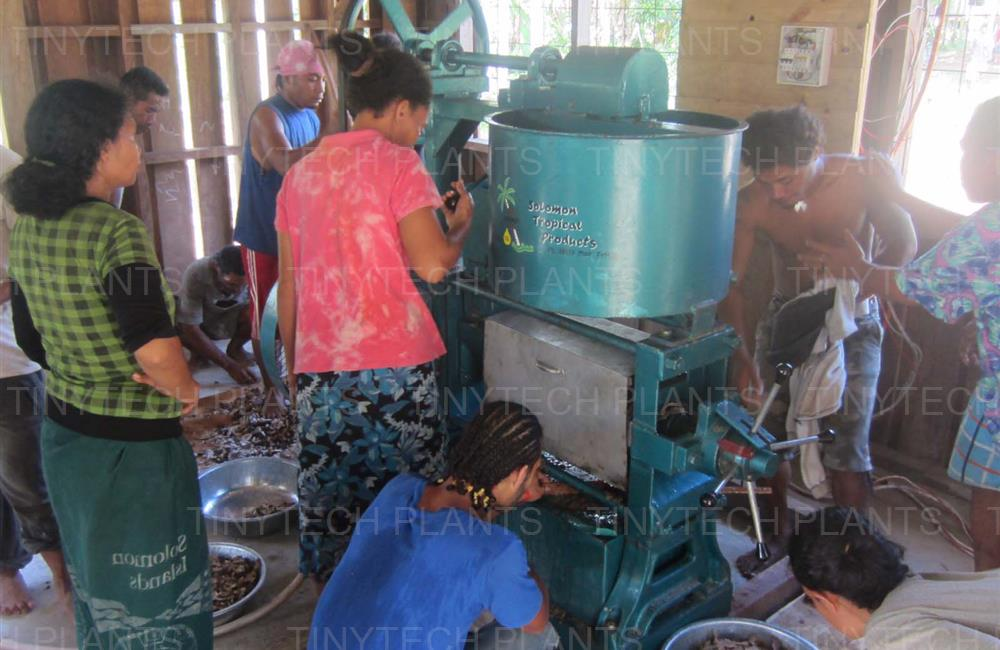 Coconut Oil Mill Plant - Solomon Islands