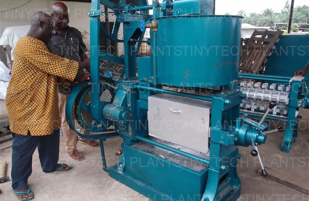 Coconut Oil Mill Plant - Nigeria Ali
