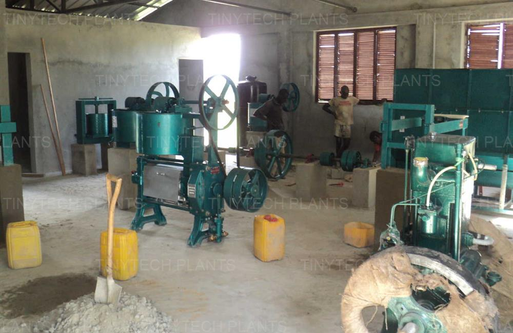 Palm Oil Mill - Sierra Leone