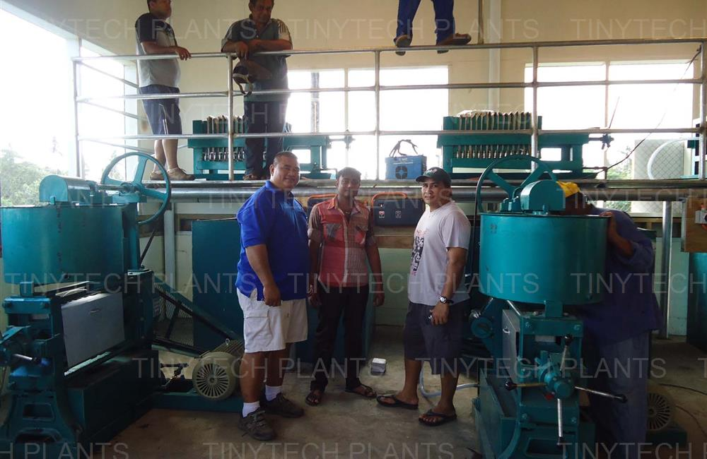 9 Tons Coconut Oil mill plant - SAMOA