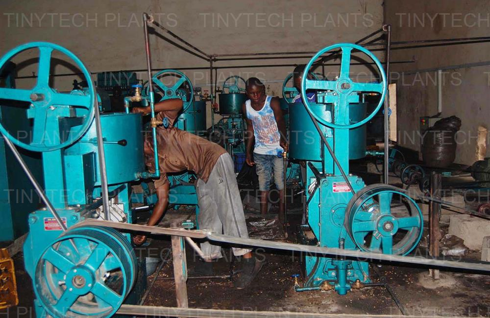 12 Tons Oil Mill Plant - Nigeria