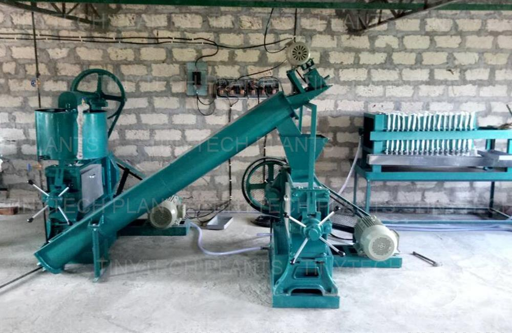 Groundnut Oil Mill Plant - Palashwa, INDIA