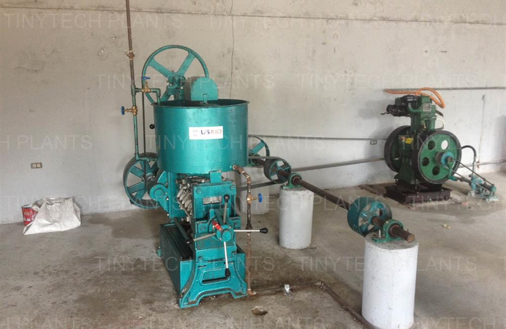 Diesel Engine Driven Oil Mill - Haiti