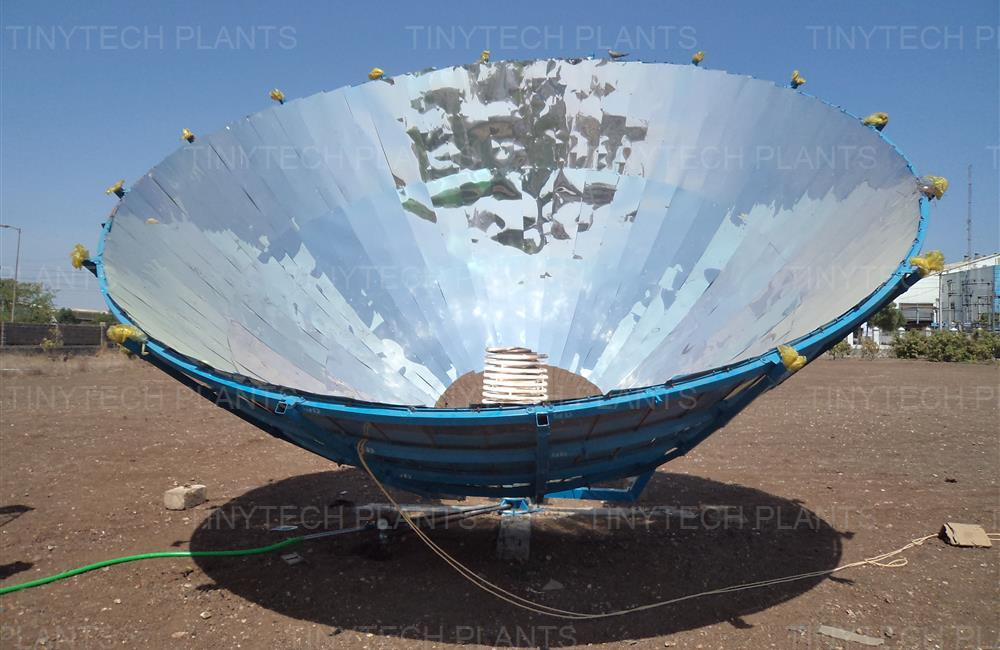 Large Parabolic Solar Baskets, Renewable Energy Equipments