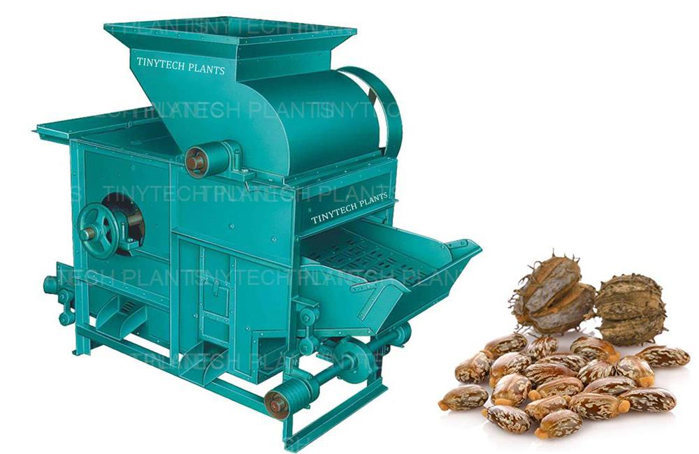 Castorseed Decorticator, Seed Processing Machinery