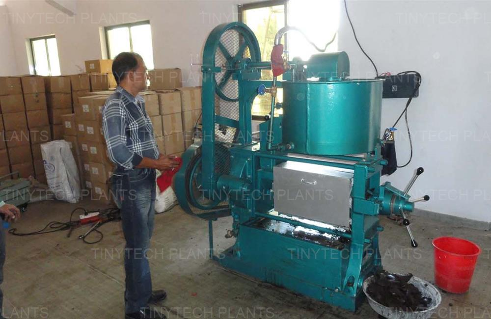 Mini Oil Mill Plant