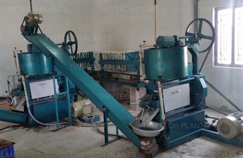 Automatic Oil Mill Plant